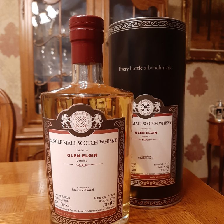 Whisky-loterij! Win een fles Glen Elgin 2008 – 2020 Malts of Scotland