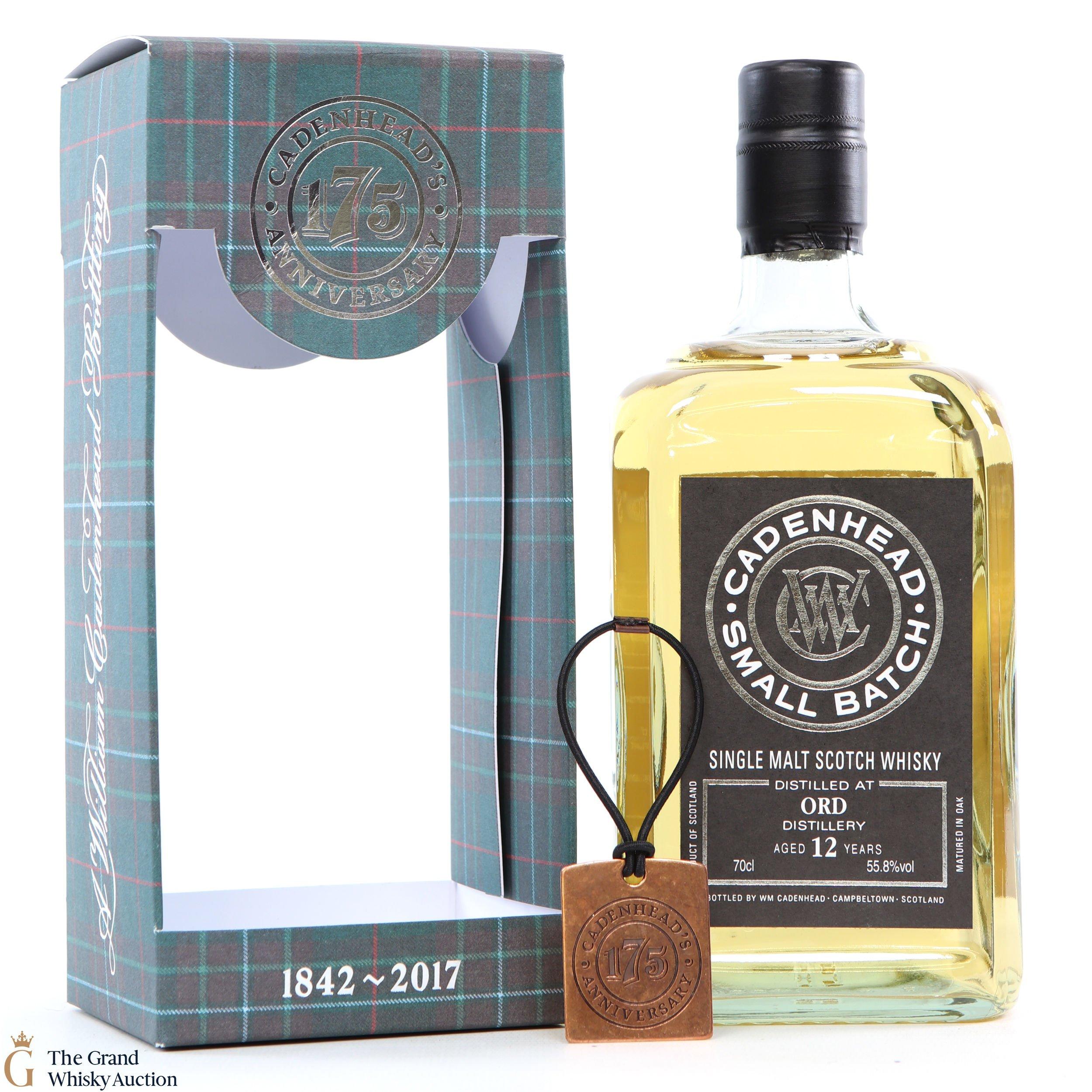Eindejaars Whisky-loterij! Win een fles Cadenhead Small Batch – ORD Distillery 12y